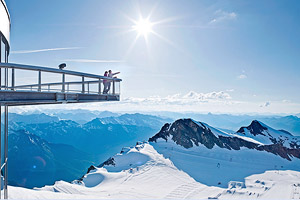 Смотровая площадка на леднике